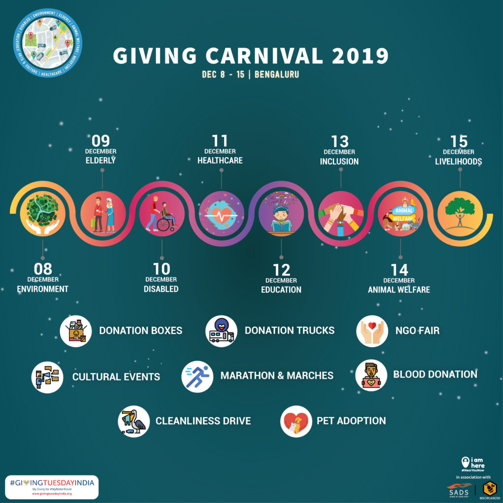 iamhere giving carnival for giving tuesday
